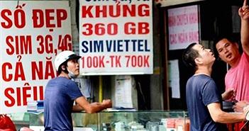 Tìm ra 15,4 triệu SIM nghi là SIM kích hoạt sẵn