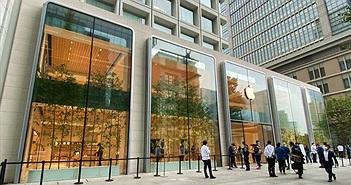Quang cảnh đìu hiu trong ngày đầu tiên mở bán iPhone 12