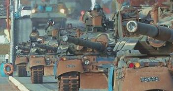 Quân đội Hàn Quốc tập trận với... xe tăng Liên Xô