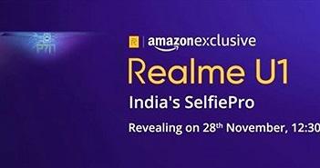 Realme U1 lộ toàn bộ cấu hình chính thức, ra mắt ngày 28/11