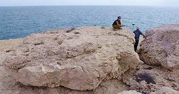 Sóng thần cổ đại cuốn đá cuội to bằng xe tăng vào bờ