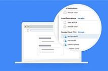 Dịch vụ in đám mây Google Cloud Print sẽ bị khai tử vào năm 2020
