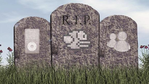 """10 sản phẩm công nghệ bị """"khai tử"""" trong năm 2014"""