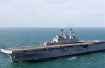 Iran tập trận rầm rộ tại eo biển Hormuz