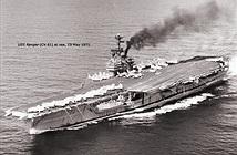 Mỹ tháo dỡ tàu sân bay từng tham chiến ở Việt Nam