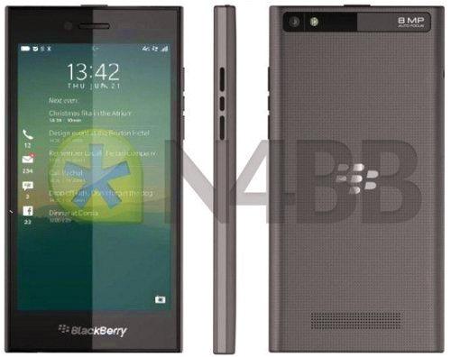 Điện thoại BlackBerry Z20 Rio 'lộ' cấu hình lẫn kiểu dáng