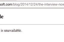 Trang blog của Microsoft bị tấn công vì liên quan đến The Interview?
