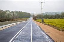Pháp mở tuyến đường đầu tiên chạy bằng năng lượng mặt trời