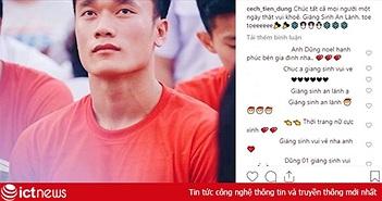 Tuyển thủ Việt Nam gửi lời chúc mừng Giáng sinh đến người hâm mộ
