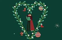 Nụ hôn dưới cây tầm gửi trong lễ Giáng Sinh: tục lệ này bắt nguồn từ đâu và có ý nghĩa gì?