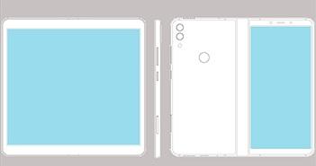 ZTE đăng kí bản quyền smartphone màn hình gập