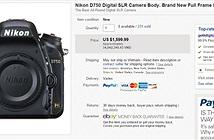 Dòng máy ảnh Full-frame Nikon D750 xuống giá thấp kỉ lục
