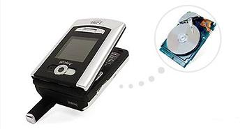 Samsung đã từng có điện thoại tích hợp ổ đĩa cứng vào năm 2005