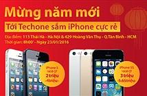 Xả kho iPhone 5 giá 2 triệu, iPhone 5s 3 triệu đồng.