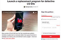 """Phẫn nộ trước lỗi """"đột tử"""" của LG G4, người dùng thu thập chữ ký yêu cầu bồi thường"""