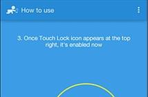Tắt tính năng cảm ứng trên màn hình thiết bị Android