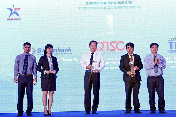 Hơn 60 đơn vị, cá nhân tiêu biểu nhận giải thưởng CNTT - TT TP.HCM