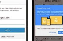 Tắt chức năng tự sao lưu mật khẩu lên Google