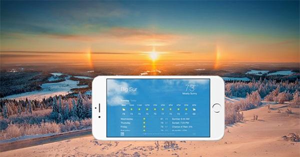 5 ứng dụng thời tiết cực hay cho smartphone