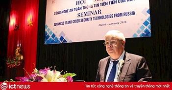 Doanh nghiệp Nga sang Việt Nam tìm đối tác phát triển sản phẩm an toàn thông tin