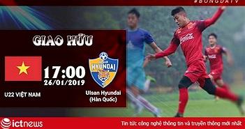 Chiều nay, thầy Park sẽ ra sân Hàng Đẫy xem ĐT U22 Việt Nam so tài cùng đội bóng quê hương