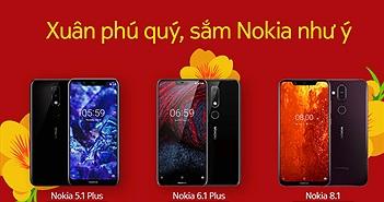 Sắm Nokia đón Tết với nhiều khuyến mãi hấp dẫn