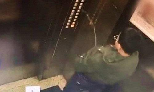 Cậu bé đi tiểu trong thang máy và kết đắng đầy bất ngờ