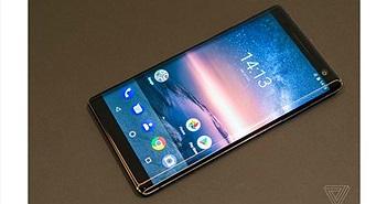 Trên tay Nokia 8 Sirocco: màn hình cong, camera kép ống kính Zeiss