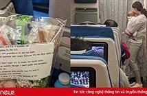 Chuyến bay 10 tiếng và mẩu giấy nhắn của bà mẹ người Hàn Quốc gây bão mạng xã hội thế giới