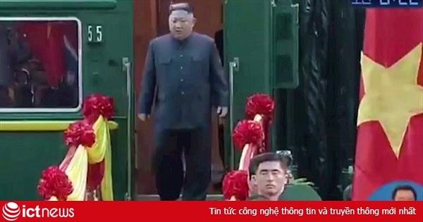 Hình ảnh trực tiếp Chủ tịch Triều Tiên Kim Jong-un được đón tiếp ở Hà Nội