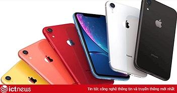 iPhone XR bán chạy nhất năm 2019
