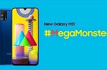 Samsung Galaxy M31 xuất xưởng với cụm bốn camera, pin 6.000mAh và Android 10