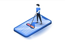 Cách xóa bộ nhớ cache trên iPhone
