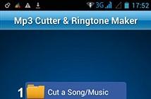 Hướng dẫn phần mềm cắt nhạc chuông cho Android