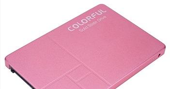 Dòng SSD đầu tiên trên thế giới có màu hồng nữ tính