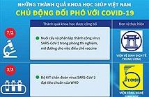 Những thành quả khoa học giúp Việt Nam đối phó COVID-19
