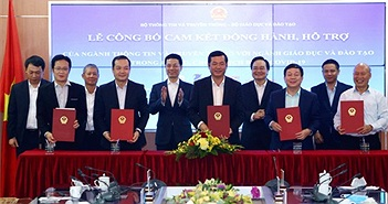Vietnamobile miễn phí giải pháp đào tạo trực tuyến cho học sinh, sinh viên cả nước