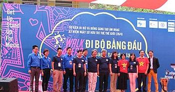 """Bạn trẻ Hà Nội hào hứng nhảy flashmob """"vì âm nhạc và sở hữu trí tuệ"""""""