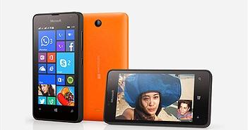 Lumia 430 Hai SIM - Smartphone giá rẻ của Microsoft sắp được bán tại Việt Nam