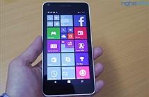 """Mở hộp Lumia 640 - """"640XL nhí"""" giá 3,35 triệu"""