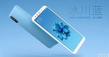 Mi 6X ra mắt: Snapdragon 660, RAM 6GB, camera AI kép 20MP, giá từ 250 USD