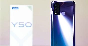 Trên tay Vivo Y50: hiệu năng mạnh mẽ, pin khủng 5000 mAh giá hơn 6 triệu