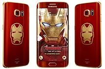 Galaxy S6 Edge Iron Man chính thức ra mắt: Đỏ - Vàng, theme Iron Man, tặng sạc không dây, 27/5 bán