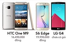 So sánh cấu hình Bphone với S6 Edge, M9, G4, iPhone 6 Plus