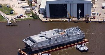 Tận mắt tàu đổ bộ siêu tốc JHSV-6 của Mỹ