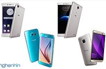 So sánh Oppo R7 và R7 Plus với Samsung Galaxy S6 và HTC One M9
