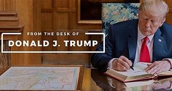 Lượt tương tác trên blog của ông Trump giảm mạnh