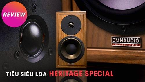 Tiểu siêu loa Heritage Special, sản xuất giới hạn 2500 cặp, di sản đáng sưu tầm của Dynaudio