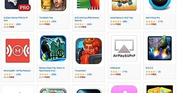 Amazon tặng 50$ game và ứng dụng cho Android, miễn phí, 1/7 hết hạn