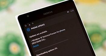 Đã có Windows 10 Mobile 10149: không cần về WP 8.1, thanh địa chỉ của Edge ở dưới, sửa nhiều lỗi